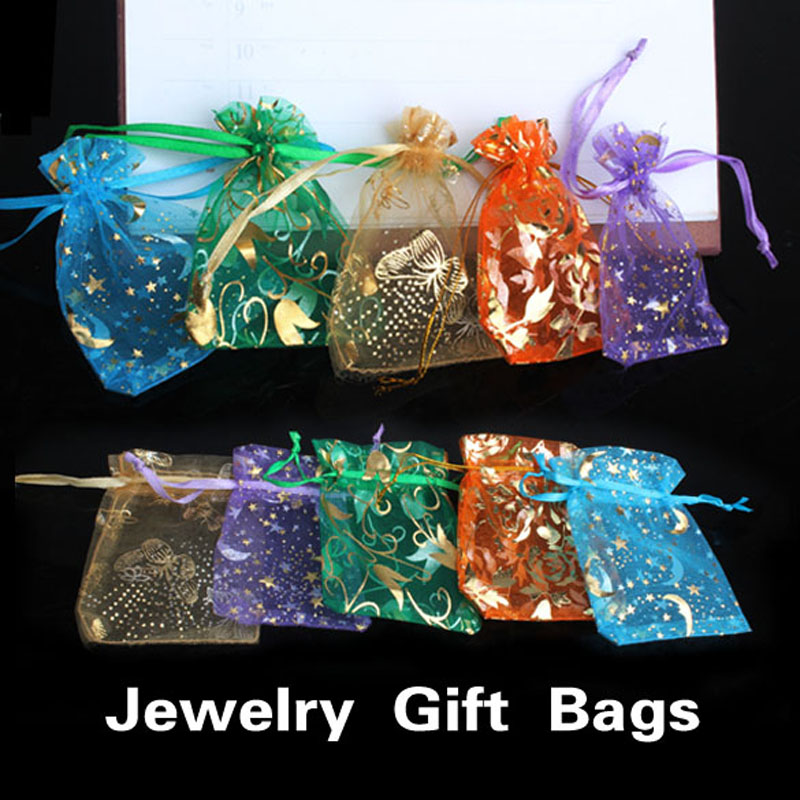 Wedding Gift Bags For Candy : Jewelry Candy Bags Pendent Mixed Color Mini Gift Pouch Bags Wedding ...