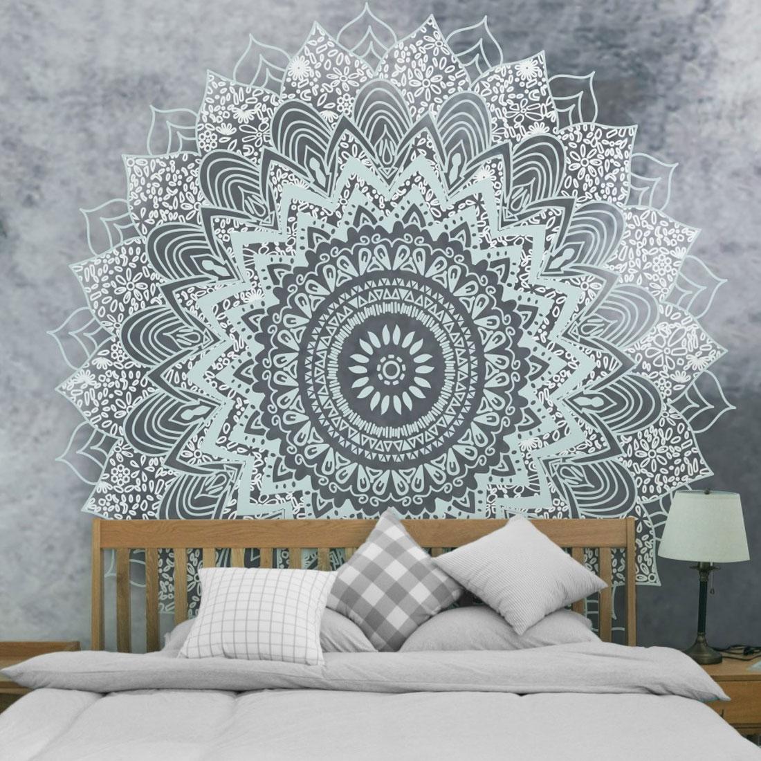 Bohemian  Mandala Tapestry Home Decor Wall Hanging Picnic Throw Rug Blanket  Cotton Throw Сумка