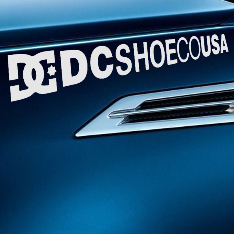 192cm 10 colors english alphabet car sticker dc shoecousa drift letters modified motorcycle reflective