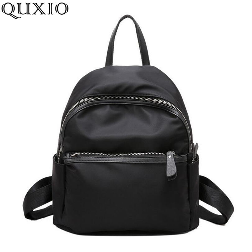 New Women Backpacks Vintage South Korea Brand Design Bag Travel Casual Female Nylon High Quality Small Rucksack Zzl188