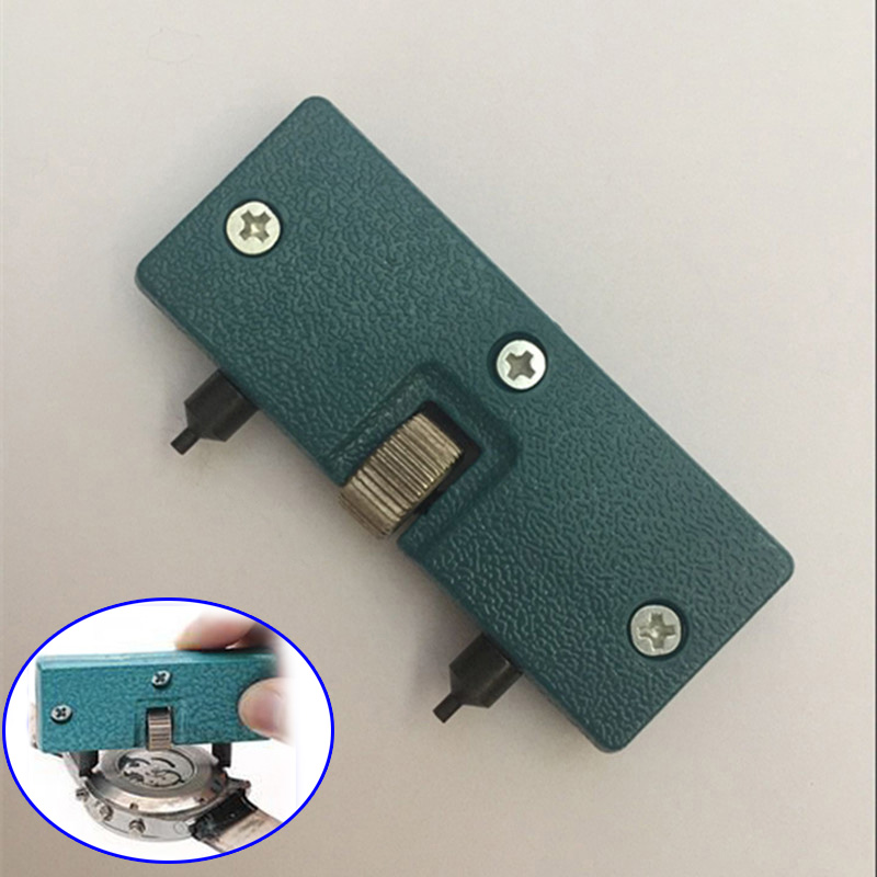 Watch Repair Tool Kit Cover Remover Screw Open Battery Change Adjustable Back Case Opener CLH@8