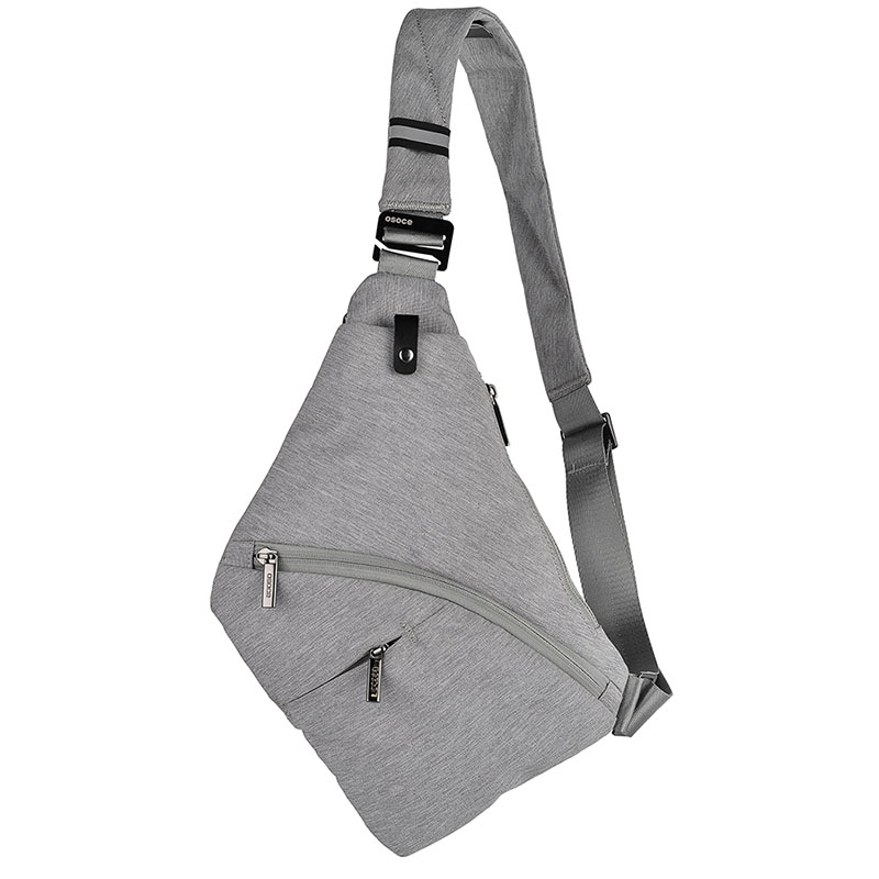 Dropwow OSOCE Men Nylon Crossbody Bags Shoulder Bags For Men Black ... 60f474e84fa0