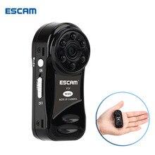ESCAM QM10 Wifi Mini cámara HD 720 P Onvif Cámara IP inalámbrica de interior de Vigilancia de Visión Nocturna de Seguridad CCTV Cámaras con batería