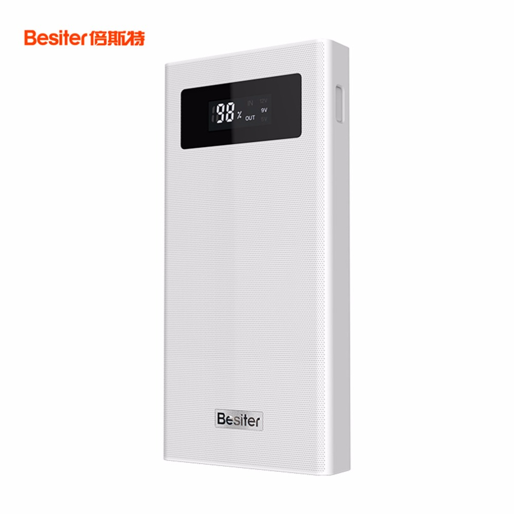 Besiter BST K6X 20000mah Portable Phone Charger For Smart Phones External Dual USB Battery Charger Battery