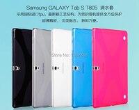 Nouveau Anti-skid X Ligne en Silicone Souple En Caoutchouc TPU Gel Peau de Couverture de Shell cas Pour Samsung Galaxy Tab S 10.5 T800 T801 T805 10.5