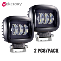 LED Work Light Driving Lamp for Car Truck Trailer SUV Offroads Boat 12V 24V 4WD