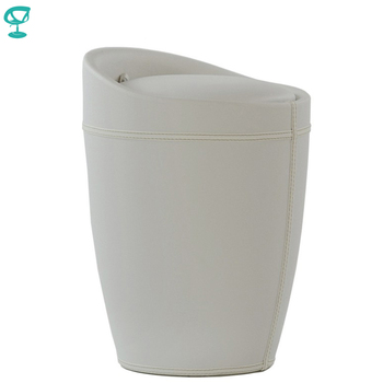 95280 Barneo N-9 Eco-leatherKitchen Breakfast Interior Stool Bar Chair Kitchen Furniture White free shipping in Russia