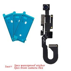 Image 2 - 2 ピース/セット iphone 7 7 プラス 8 8 プラス防水ステッカー + フロントカメラに直面センサー近接光とマイクフレックスケーブル