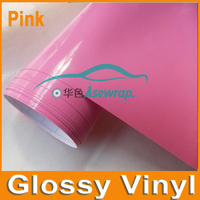 High Quality Glossy White Vinyl Wrap Gloss White Vinyl Film Air Bubble Free For Car Wrapping sticker Size:1.52x30M (5ftx98ft)