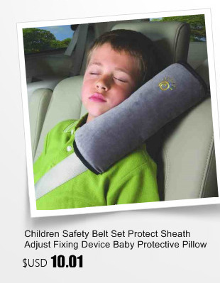 Baby Head Strap Child Car Headrest Cushion Neck Seatbelt Pelucia Vehicle Safe Seat Belts Tie Shoulder Pad Protection