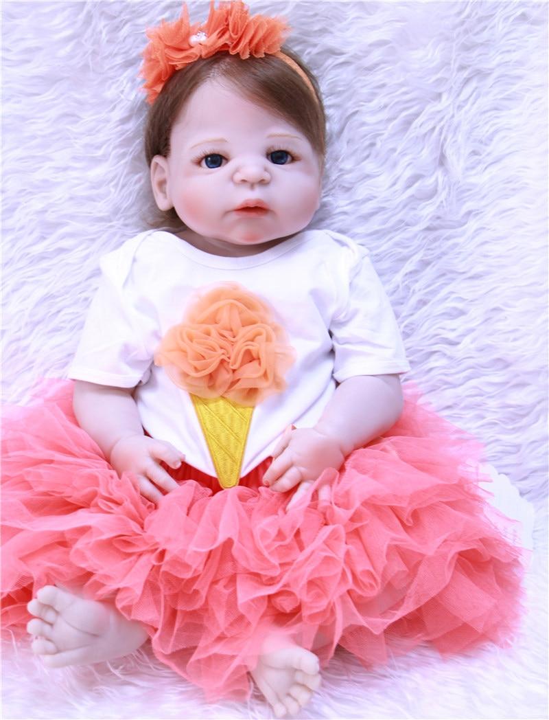 Bebês Reborn bonecas da princesa menina 22
