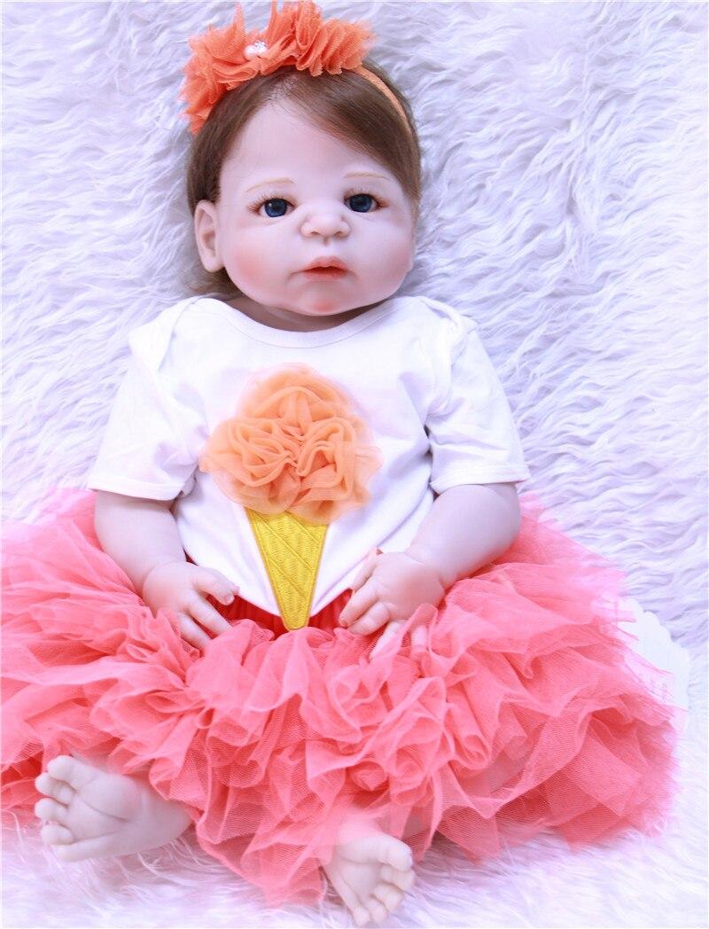 Reborn bebês menina princesa bonecas 22
