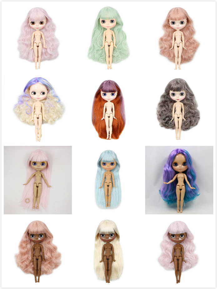 Conjunto de cuerpo desnudo blyth muñecas 20180912-in Muñecas from Juguetes y pasatiempos    1