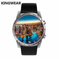 KW99 Android 5,1 Смарт часы 512 МБ + 8 ГБ с Bluetooth 4,0 WI FI 3g gps Smartwatch телефон наручные часы для android xiaomi ios VS LES2