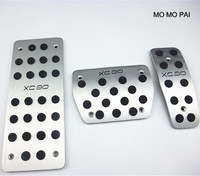 Fuel Brake Foot Rest Step Board pedals plate For Volvo XC90 2003 2012 AT Automatic Car