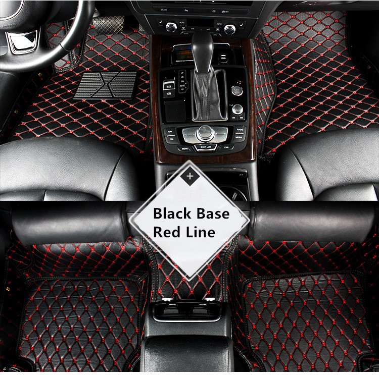 Synthetic Leather Car Floor Foot Mat For ACURA TLX TLX L