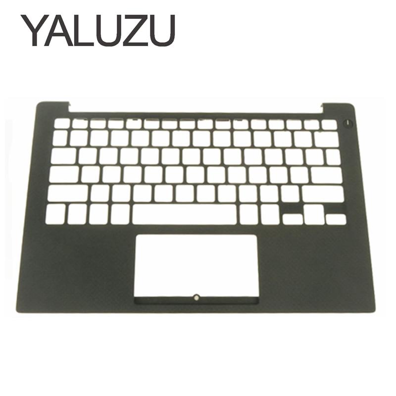 YALUZU new For DELL XPS13 9350 9360 Palmrest Top case Keyboard Housing 43WXK 043WXK CN-043WXK bottom top cover NXHVX PHF36 BLACK ...