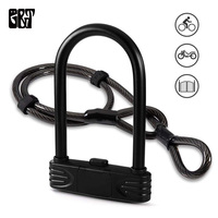 GT Heavy Duty 5 Digit Bicycle Bike Combination U Lock Bike Bicycle Motorcycle Cycling Scooter Security Steel Chain Safety Lock