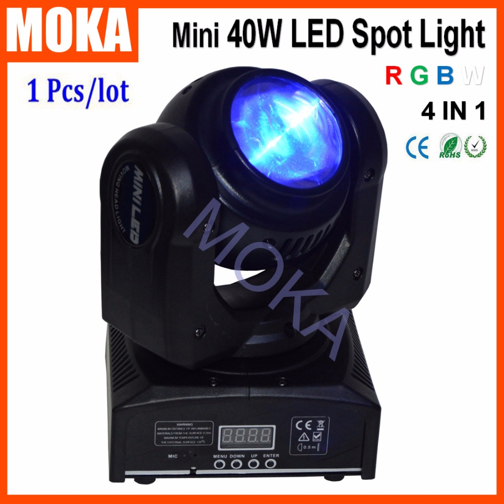 Best-selling 40W Led Moving Head Beam Stage DMX RGBW 4IN1 Bar DJ Light Beam Lighting for Outdoor Indoor niugul dmx stage light mini 10w led spot moving head light led patterns lamp dj disco lighting 10w led gobo lights chandelier