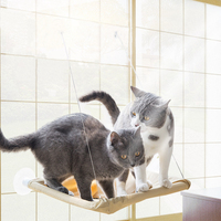 חלון ערסל ערסל חתול חתול נשלף מתחמם מוט חתול מחצלת כוס יניקה מדף תליית מיטת כרית מושב ביתי כלב קטן