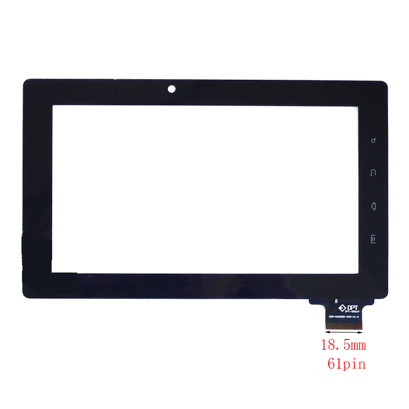 New 7 Tablet For Prology iMap-7000Tab 61pin Touch screen digitizer panel replacement glass Sensor Free Shipping new 7 inch touch screen digitizer for for acer iconia tab a110 tablet pc free shipping