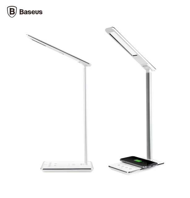 Baseus Ingert Series Wireless Charging Table Lamp QI Wireless Charger LED  Desk Lamp Android Universal Receiver