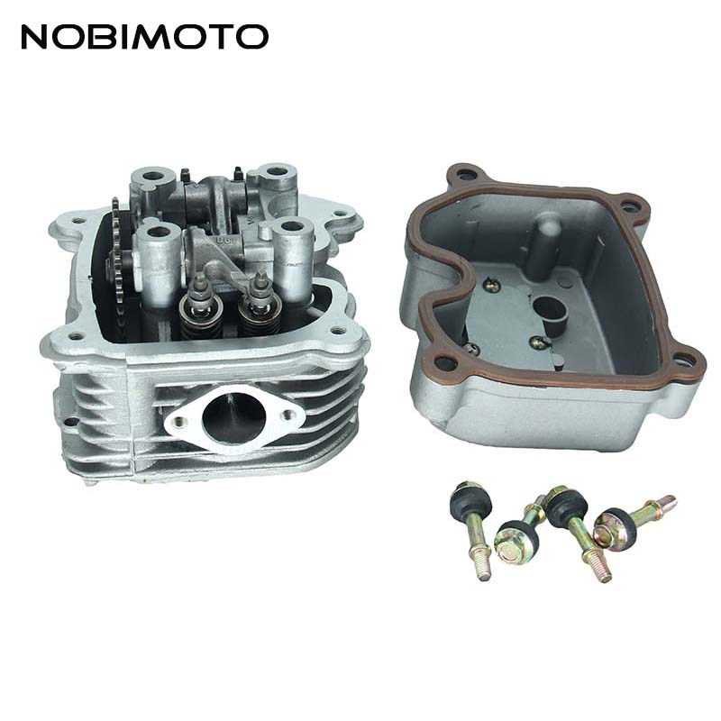 200cc GY6 Cylinder Head with 4 valve for Tuned GY6 <font><b>125cc</b></font> <font><b>Engine</b></font> ATV PIT BIKE MOTORCYCLE GT-185 image