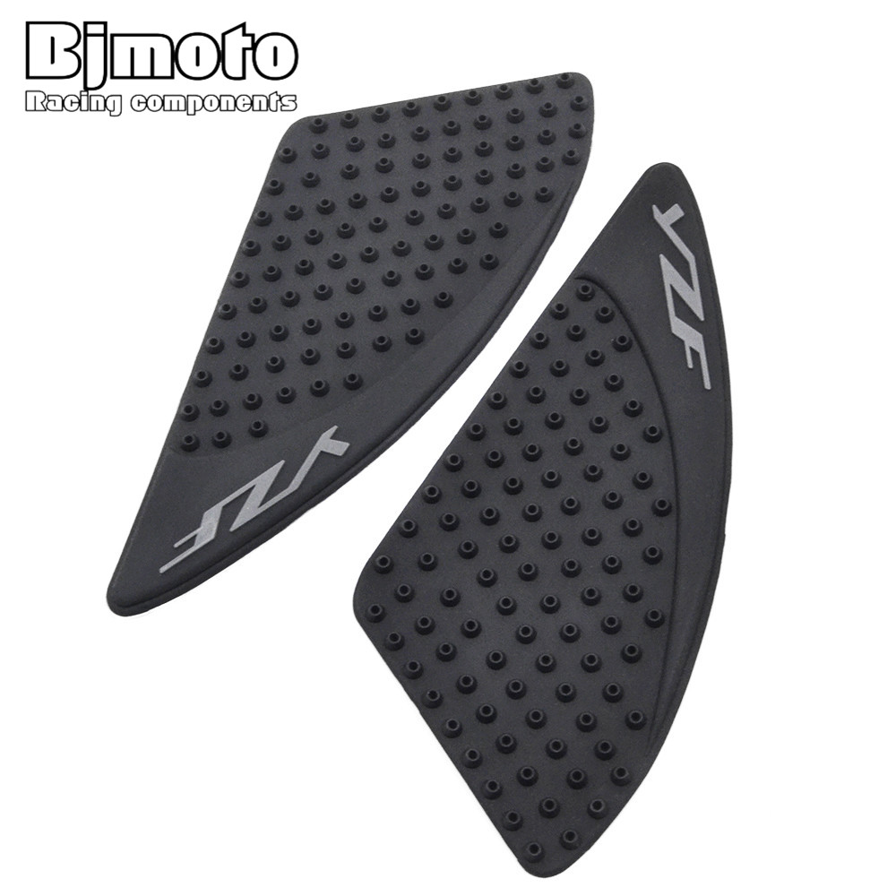 BJMOTO New Motorcycle Tank Pad Protector Sticker Decal Gas Fuel Knee Grip Traction Side For Yamaha YZF R15 2015-2016 scoyco motorcycle riding knee protector extreme sports knee pads bycle cycling bike racing tactal skate protective ear
