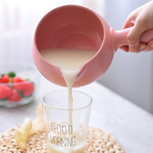 500ml Korean casserole milk pot soup ceramic baby food supplement hot porridge