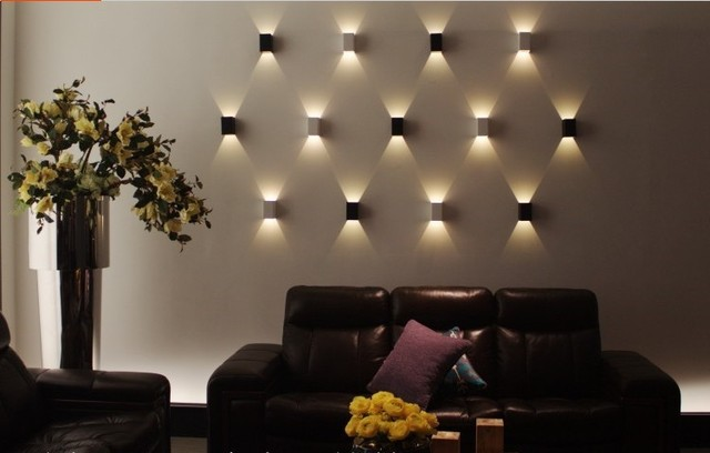 Modern 3W led Holiday Lighting wall light restroom bathroom bedroom ...