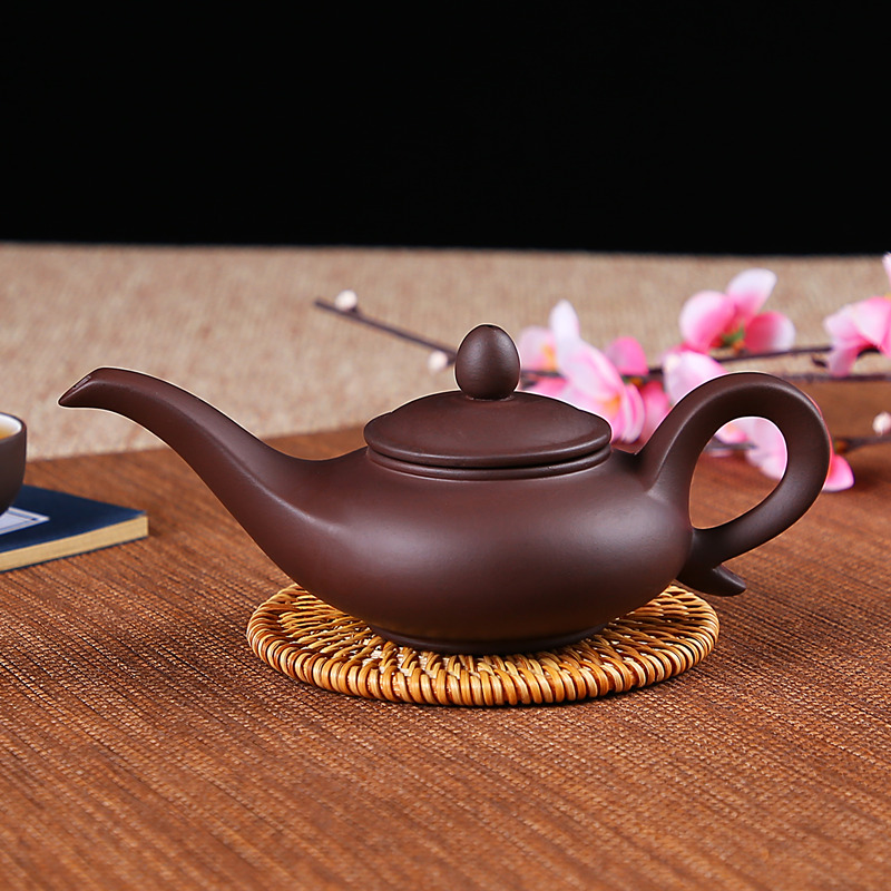 JIA GUI LUO Purple Clay yixing teapot traditional chinese tea set oolong tea Portable travel tea set H012 in Teapots from Home Garden