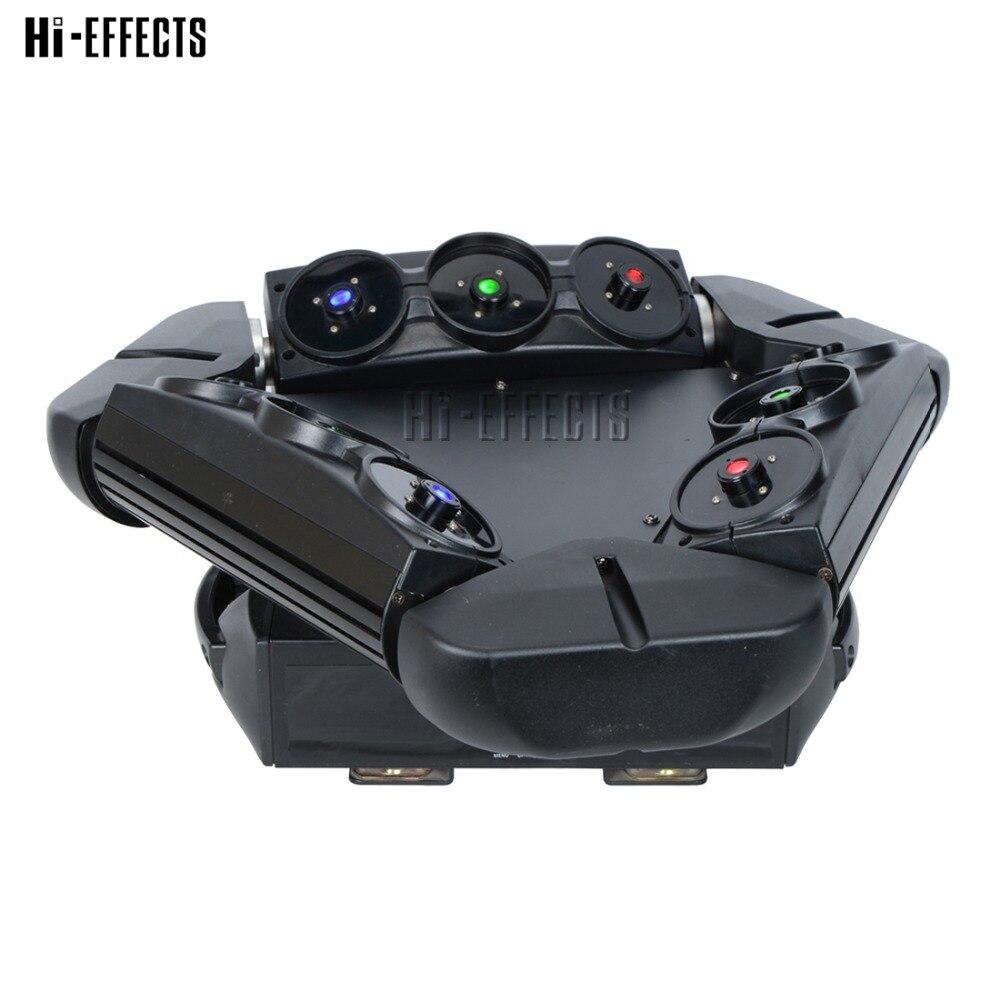 Spider Beam Laser Light DMX Master-slave  9 Eyes RGB Moving Head Laser  Light Professional Stage Lighting For DJ Party Show