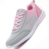 2017 New Summer Zapato Women Breathable Mesh Zapatillas Shoes Women Network Soft Casual Shoes Wild Flats