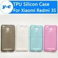 Для Xiaomi Redmi 3 S Чехол Гладкий ТПУ Кремния Мягкий Защитный Чехол крышка Для Xiaomi Redmi 3 S Pro prime Смартфон 5.0 Дюймов