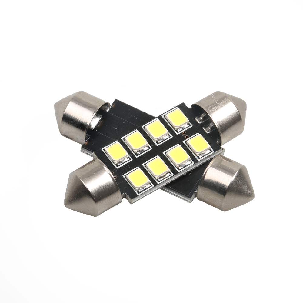 4pcs High Quality 31mm 36mm 39mm 41mm C5W C10W 3030 LED CANBUS Car Festoon Lights Auto Interior Dome Lamp Reading Bulb White 12V high quality 31mm 36mm 39mm 42mm c5w c10w super bright 3030smd car led festoon light canbus error free interior doom lamp bulb