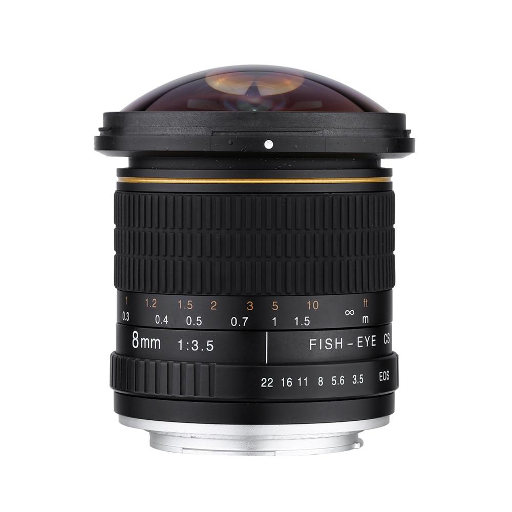 Kelda 8mm F/3.5 F3.5 Ultra Large Fisheye camera LENS pour canon 60d 650d 700d 750D 600d 550d 500d 1000d 1200D 1300D 70D 760D 80D - 3