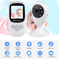 Wireless 2 4 Inche LCD Baby Monitor High Resolution Lullabies Kid Nanny Radio Babysitter Night Vision
