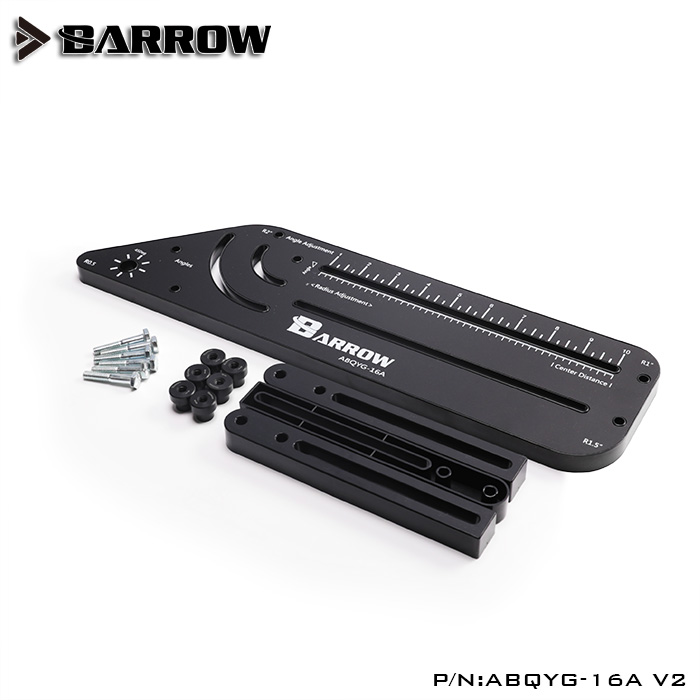 Black Barrow multi-angle Acrylic / PMMA /PETG /Metal Rigid hard tube bend mould computer gadget watercooling ABQYG-16A v2 tools 2