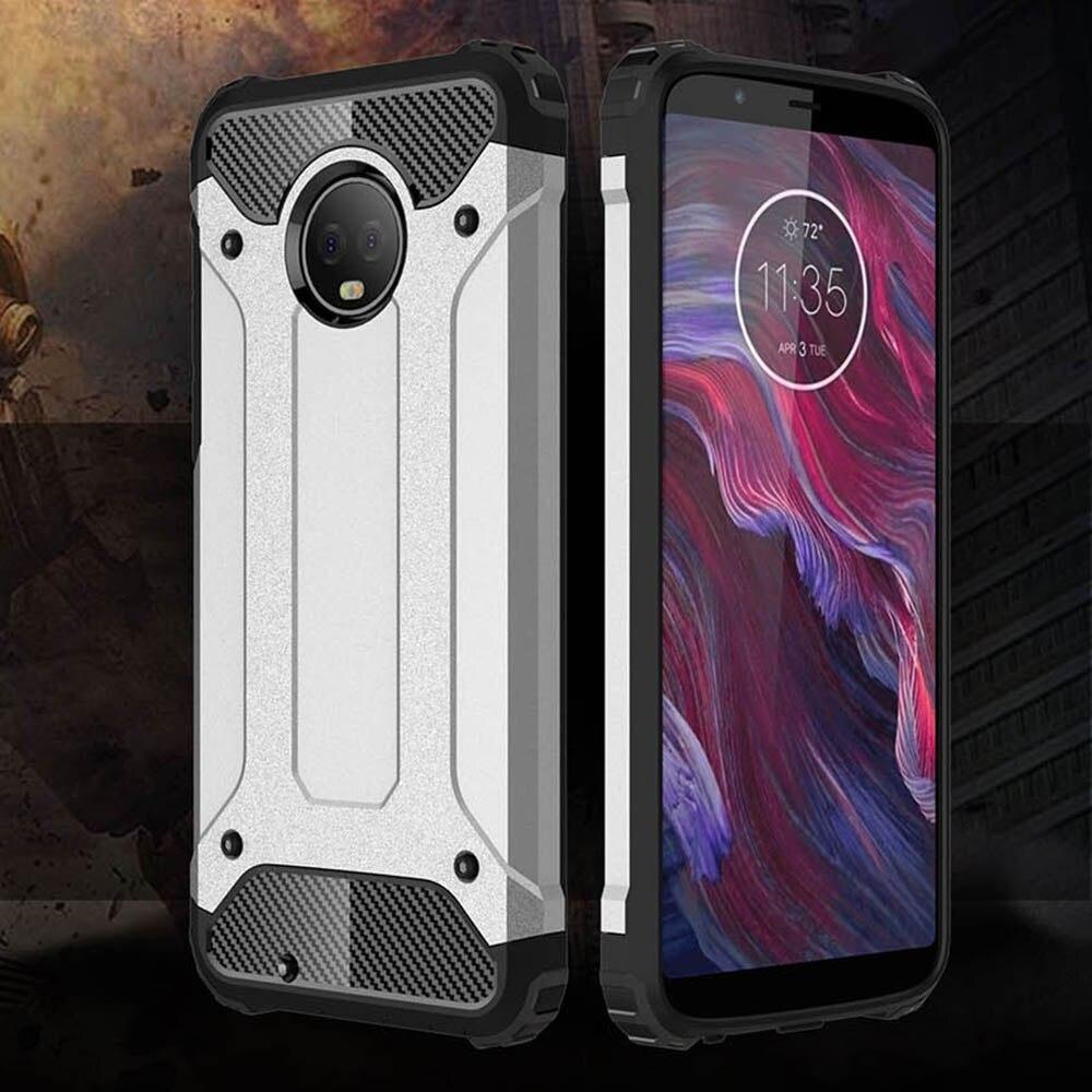 Shockproof Armor Coque Cover 5.7For Moto G6 Case For Motorola Lenovo Moto G6 Dual 1S Phone Back Coque Cover Case