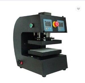 Image 2 - 15X20 Cm 6X8 Inch Dual Tấm Màn Hình LCD Kỹ Thuật Số Điều Khiển Điện Tự Động Nhựa Thông Báo Chí Tinh Dầu Nhiệt máy Ép Không. AUP10