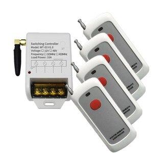 DC 12V 24V 36V 48V Smart 1CH 1 CH 30A беспроводной пульт дистанционного управления выключатель света реле выход радио RF передатчик приемник