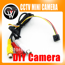5pcs/lot Wired Camera Home Security System Color Monitor Micro Monochrome CMOS Camera