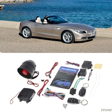 Auto arming 1-Way Car Vehicle Anti Burglar Alarm Se