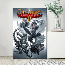 Last dragon knight Lucian Dallis Figure HD Canvas Paintings For Living Room Modern Wall Art Oil Painting Poster Home Decor