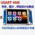 2.8 polegada HMI fonte com imagem TFT LCD touch screen módulo USART serial serial driver de tela