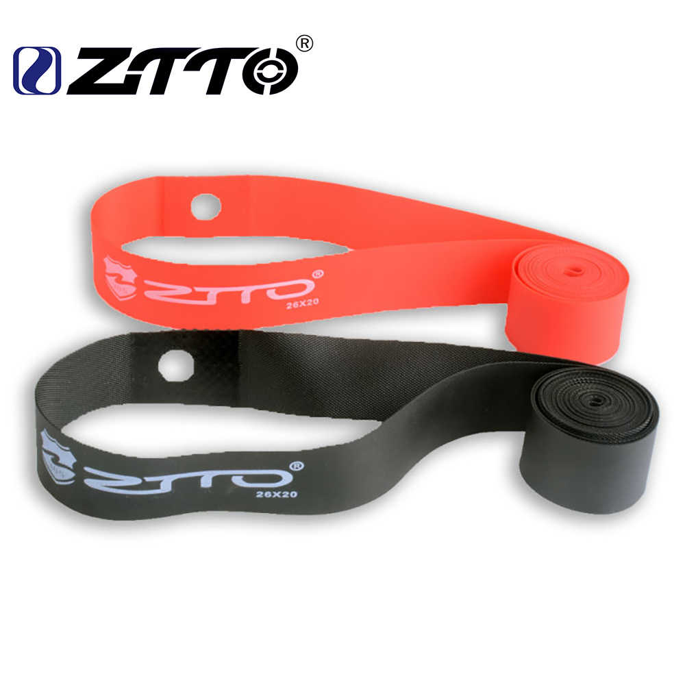 1 Pair 2 Pcs ZTTO Premium PVC Rim Tapes Strips for 20 24 26 27.5 29 Inch 650B 700c MTB Mountain Bike Road Bicycle Folding Tire
