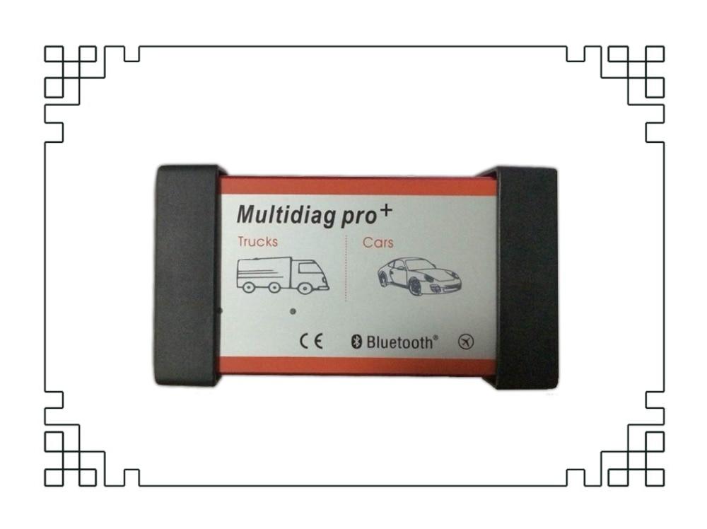 DHL красного цвета профессиональный мультидиагностический Bluetooth Vci VD TCS CDP Pro,00 R0+ активировать светодиодный+ мульти-anguages для автомобилей/грузовиков