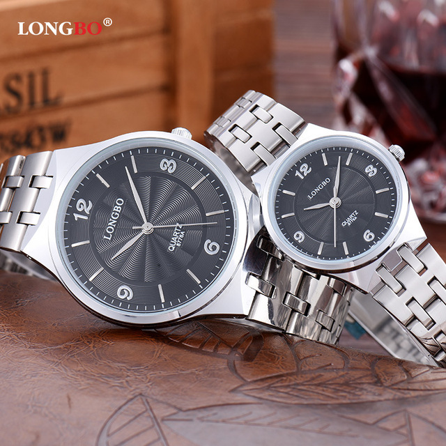d367a86a7b8 Longbo Man Watch Quartz Stainless Steel Back Watches Water Resistant  wristwatches Relogio Masculino in Lover s Clock men s Hour