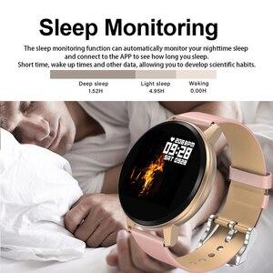 Image 3 - LIGE inteligentna bransoletka mężczyzna kobiet IP67 wodoodporny zegarek do Fitness pełny ekran dotykowy ekran może kontrolować Playback dla androida ios