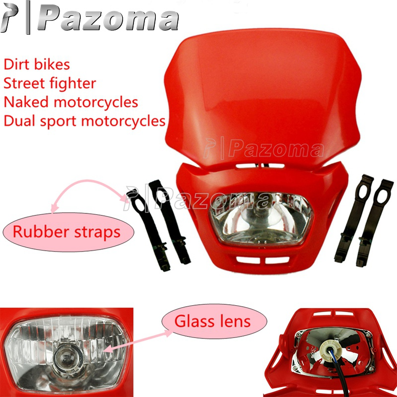 Universal Enduro Motocross Motorcycle Headlight Lamp For Honda CRF230F FMX650